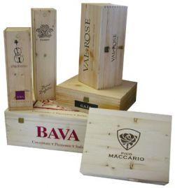 Cassette in legno per vini confezioni regalo in legno for Siti di oggetti in regalo