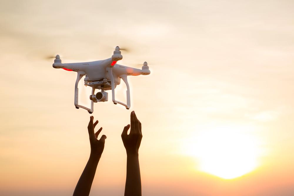 Riprese aeree con droni